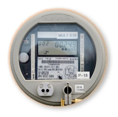 KWh energy, KW and KVA demand meters