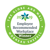 2019 Employee Recommended Workplace Award LOGO
