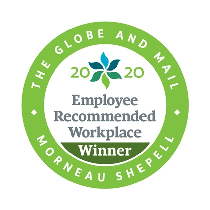 2020 Employee Recommended Workplace Award LOGO